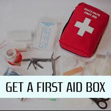 Get a First Aid Box