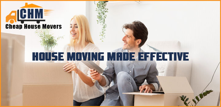 House Moving Made Effective